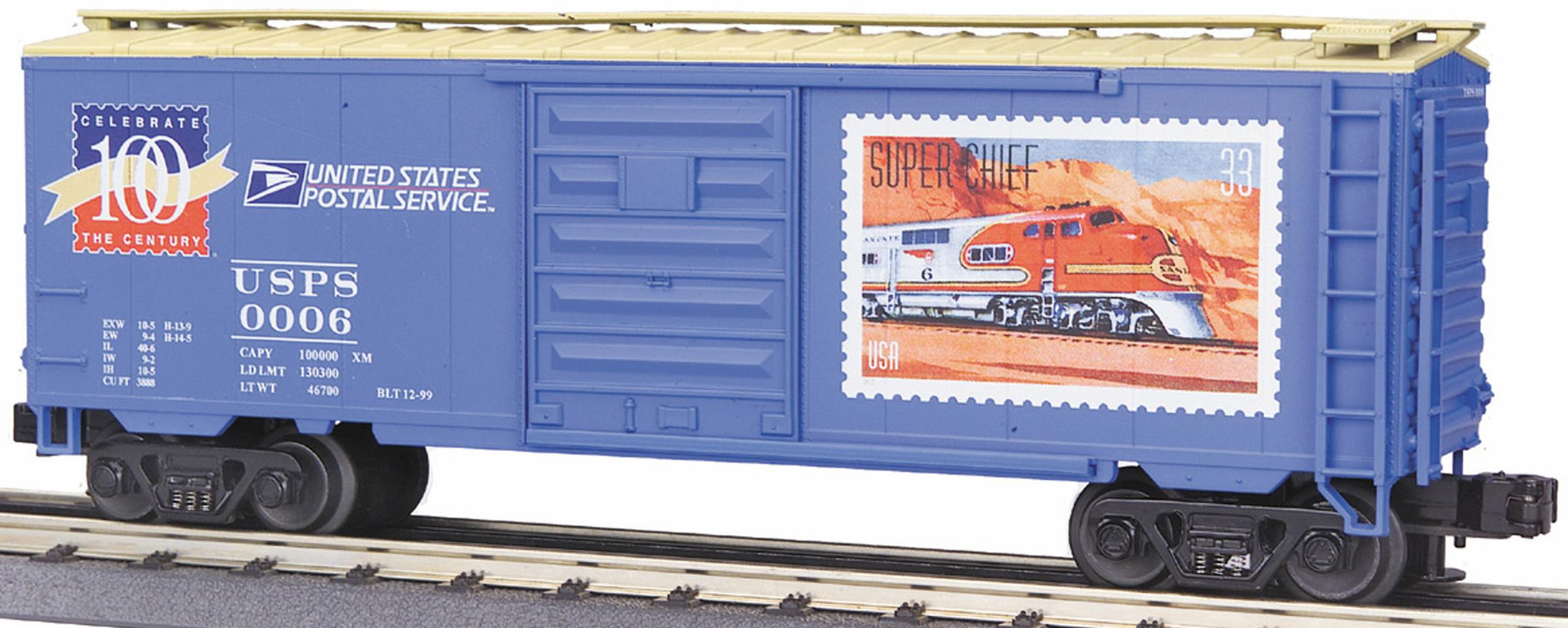 USPS Century Series #4 40' Single Door Box Car image