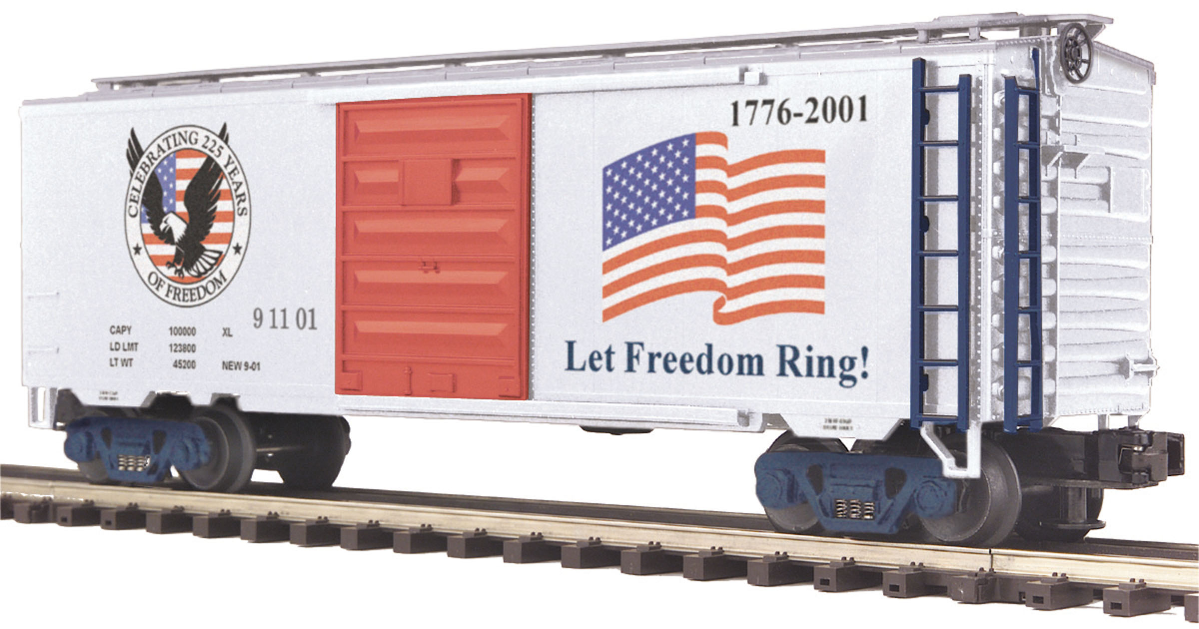 American Freedom 40' Single Door Box Car image