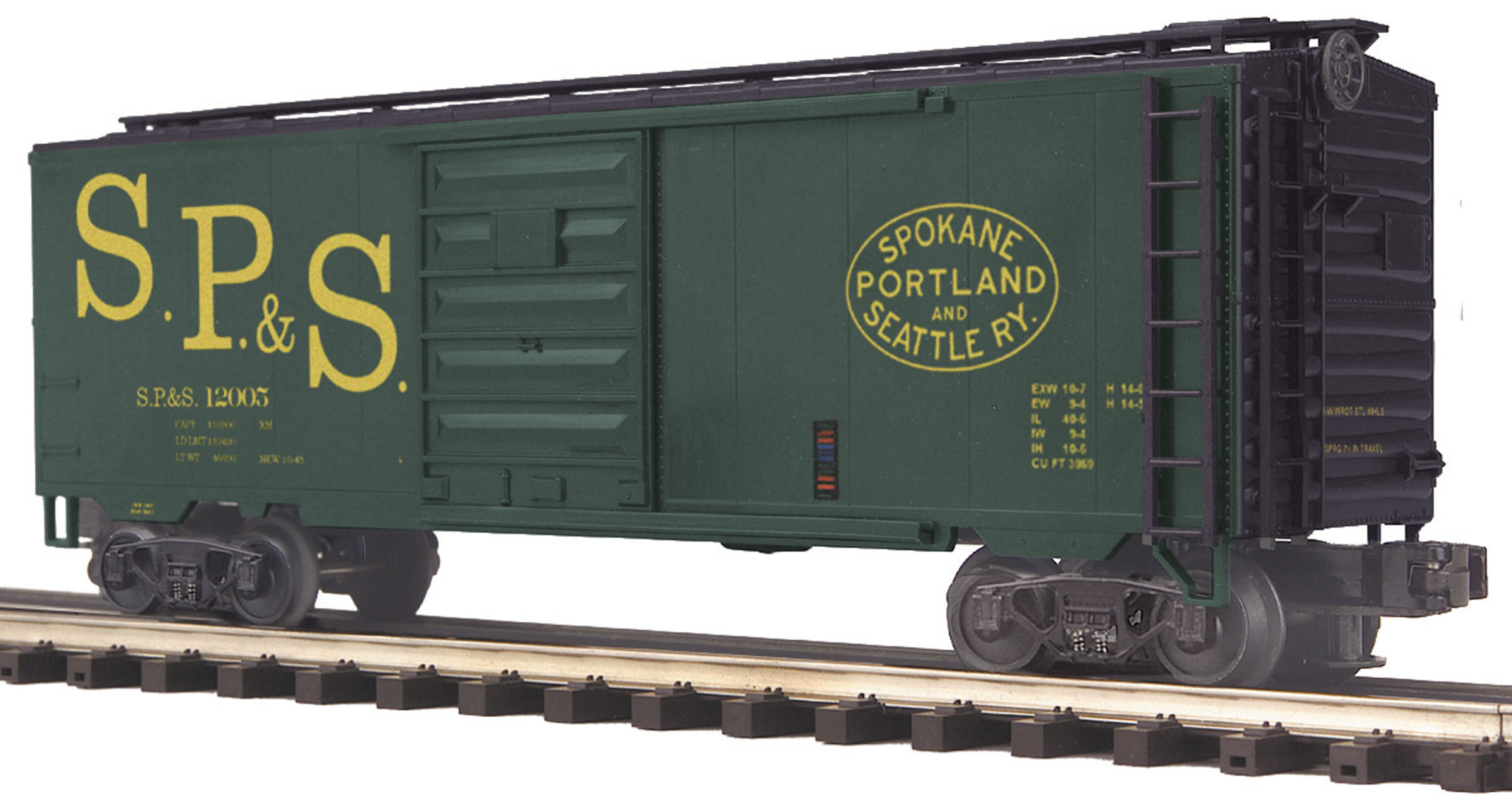 Spokane, Portland & Seattle Box Car image
