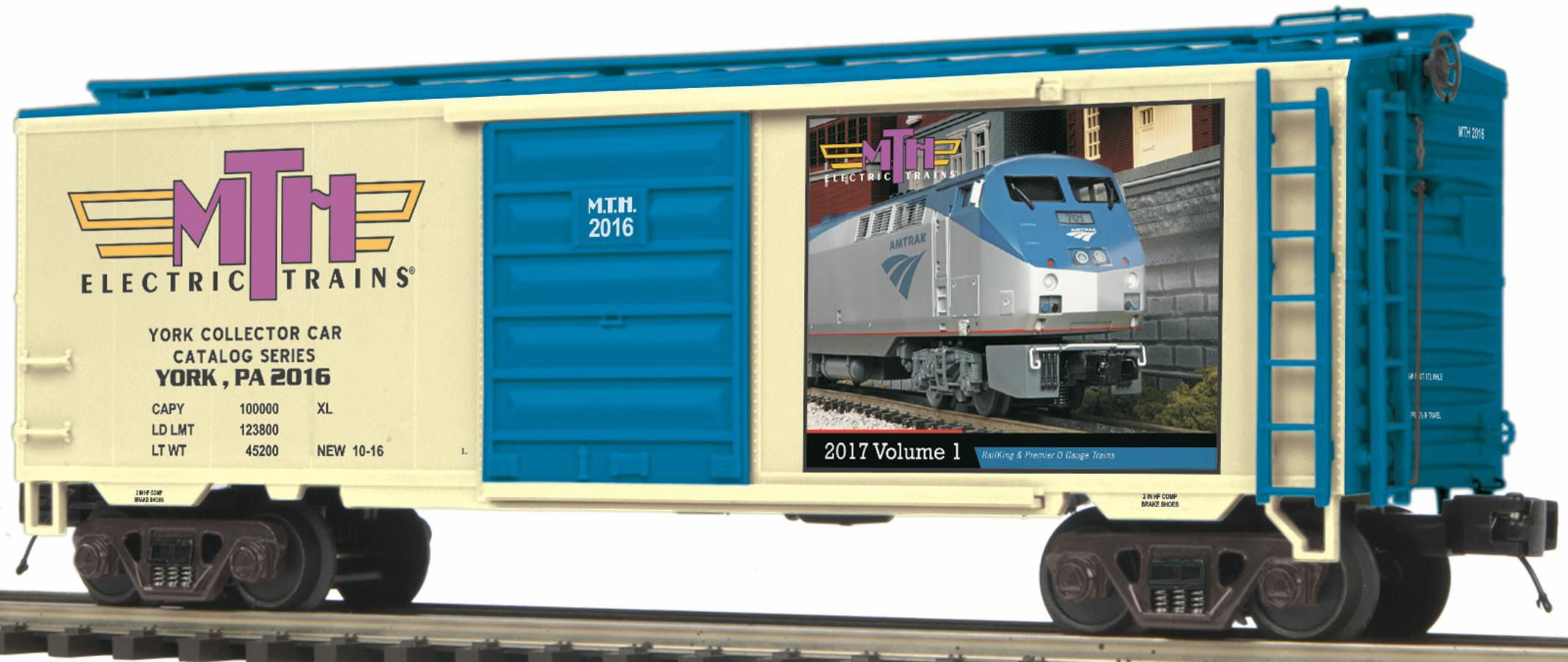 TCA 2016 Fall York Box Car image