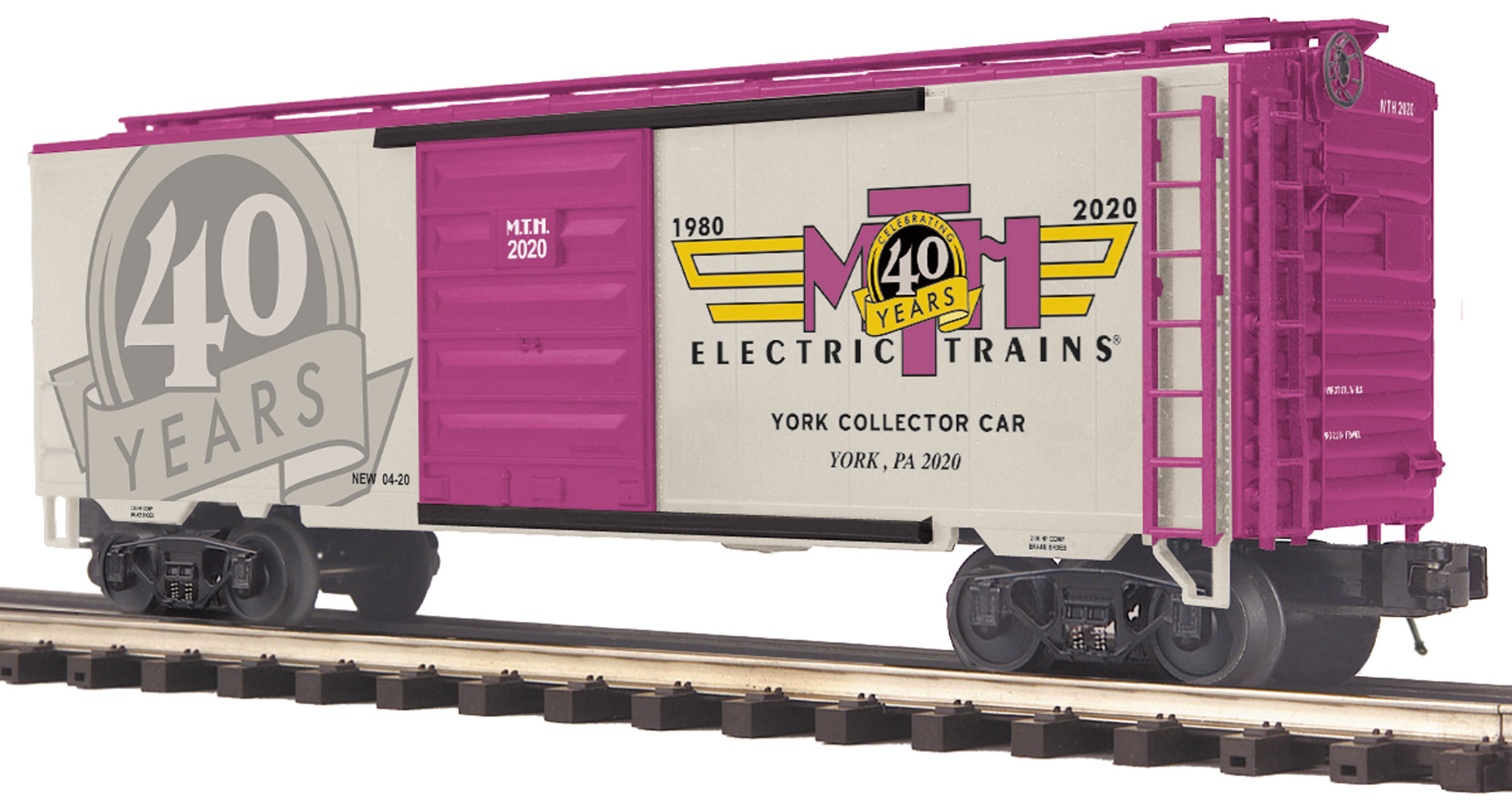 TCA 2020 Spring York Box Car (40th Anniversary - Part 2) image