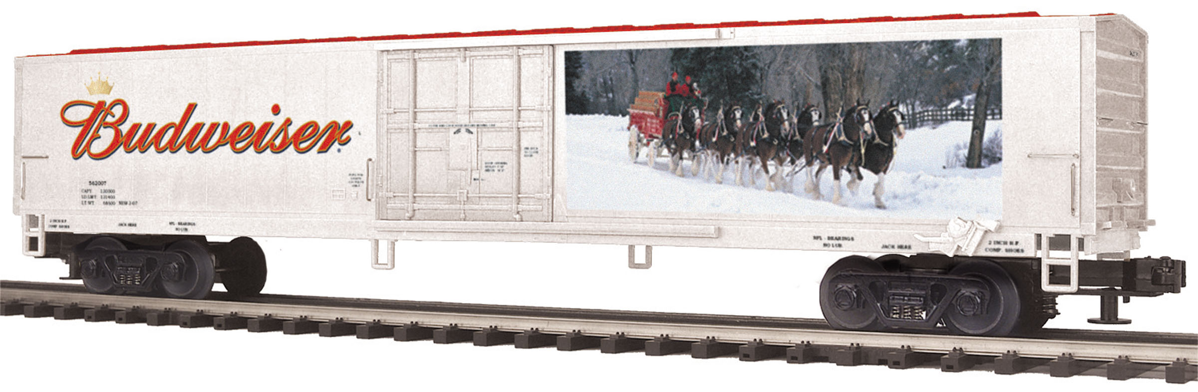 Budweiser 60-foot Reefer Car image