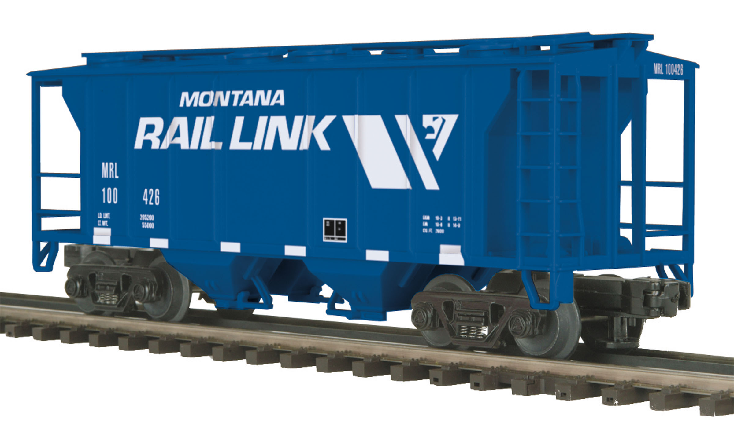 Montana Rail Link PS-2 Hopper image