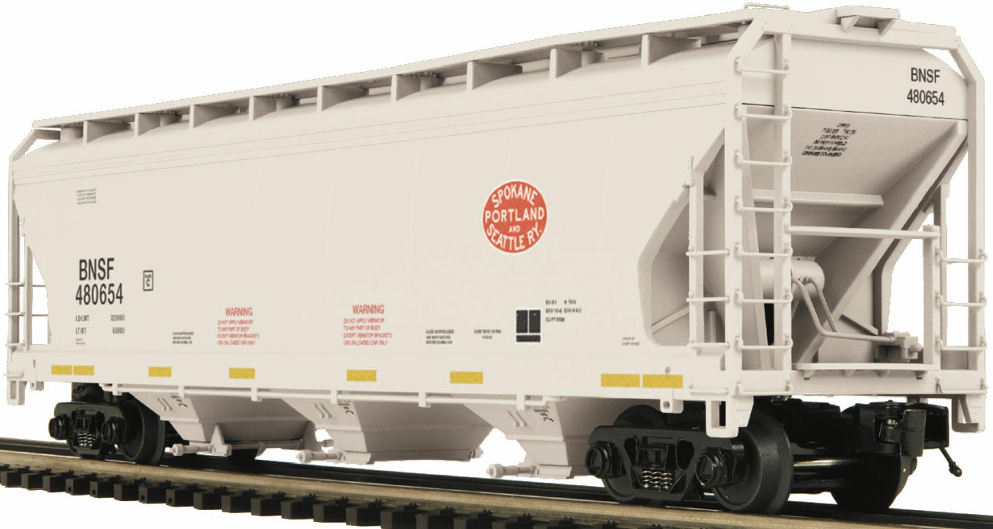 BNSF (SPamp;S) 3-Bay Center Hopper image