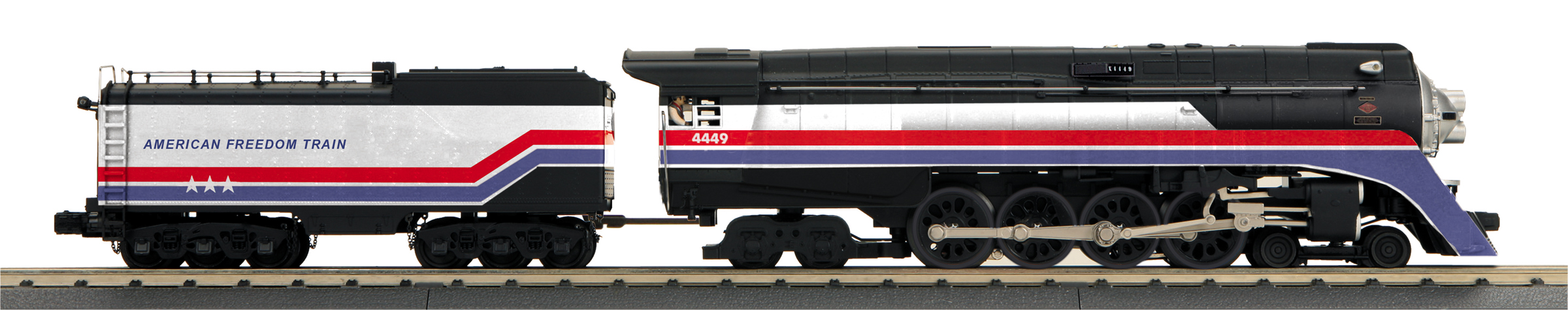 American Freedom Train 4-8-4 GS-4 Northern Steam Engine image