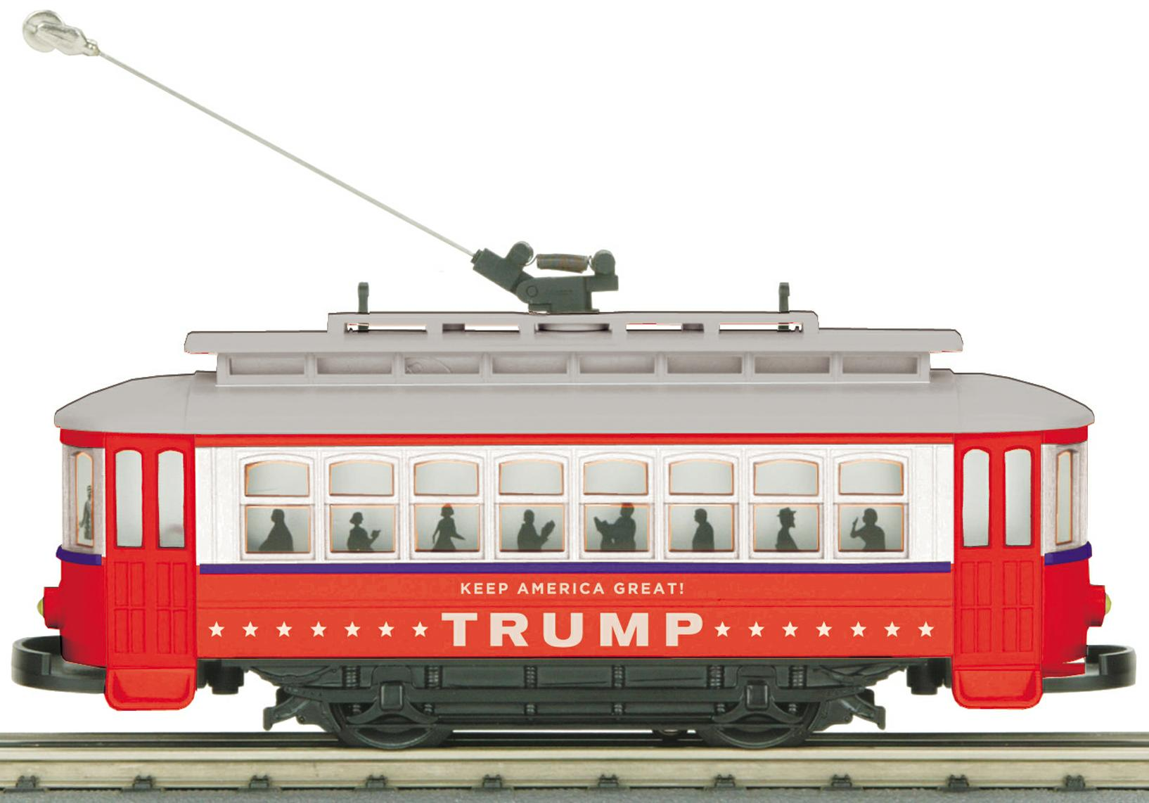 Donald Trump Bump-n-Go Trolley image