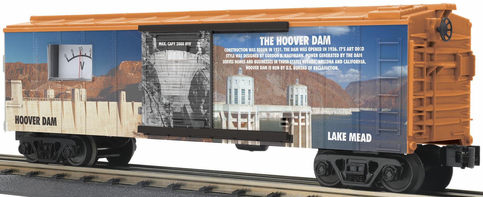 Box Car w/Power Meter – Hoover Dam image