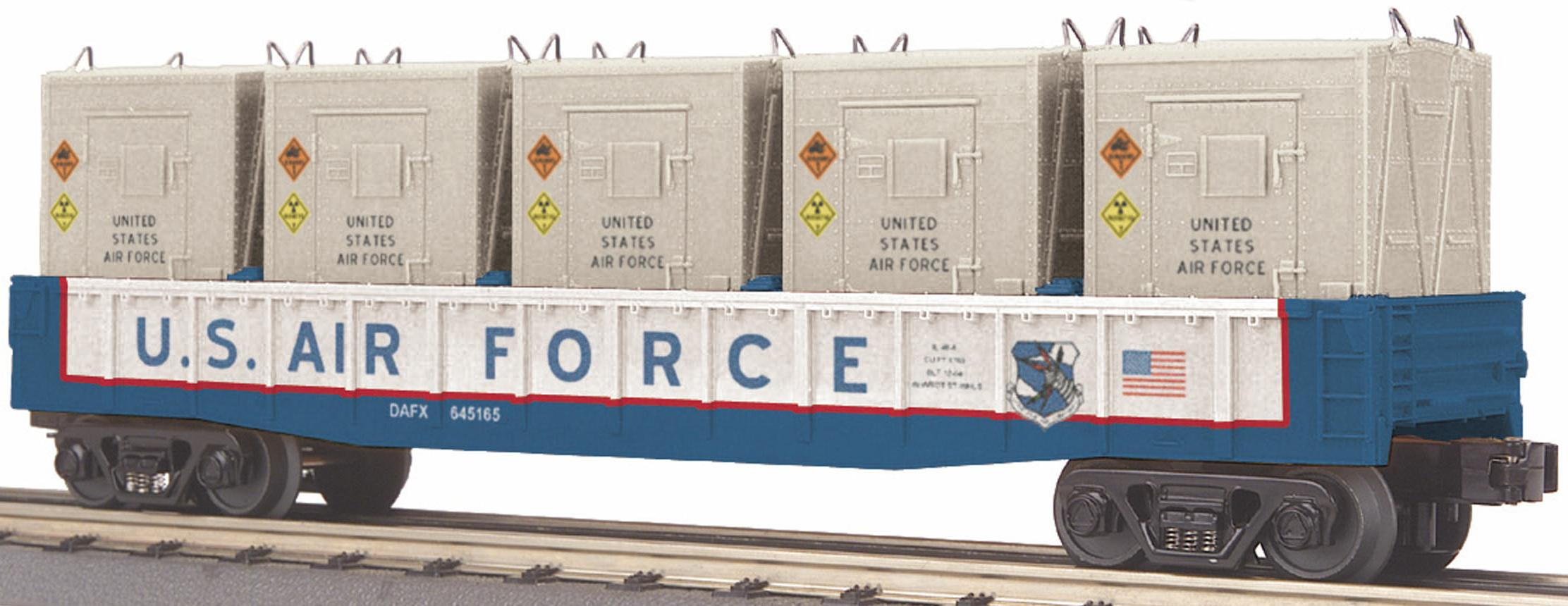 U.S. Air Force Gondola w/5 LCL Containers image