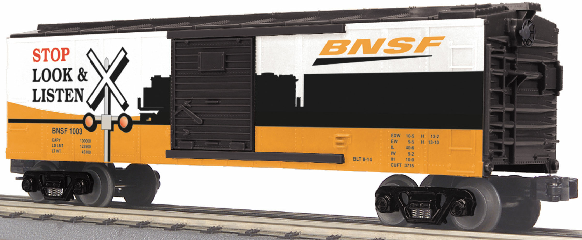 BNSF Box Car w/Blinking LEDs image