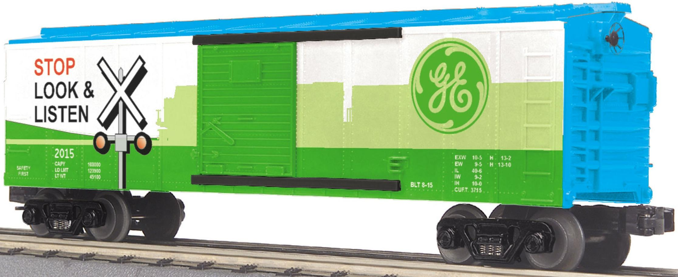 General Electric Evolution (GEVO) Box Car w/Blinking LEDs image