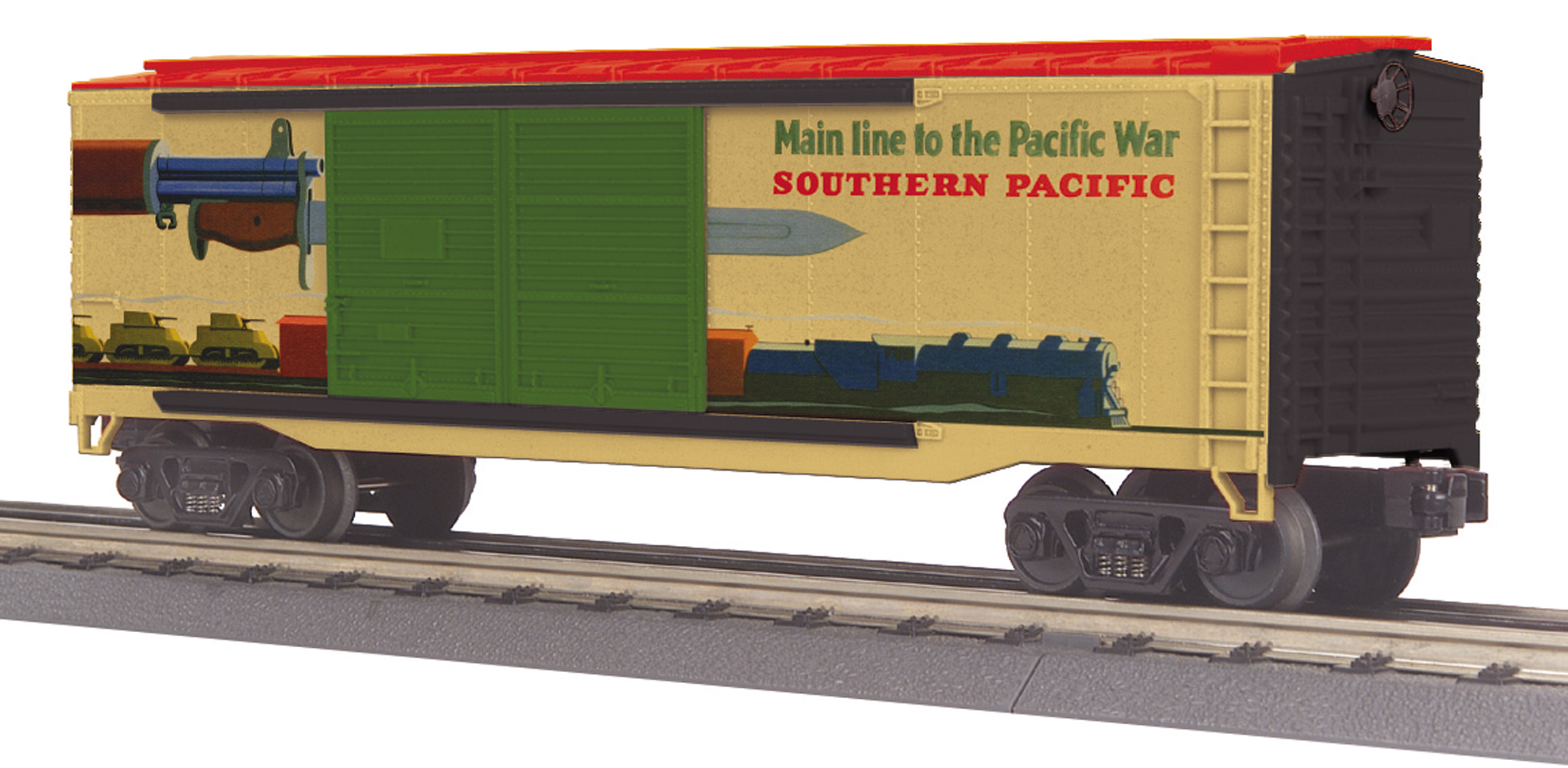 Southern Pacific 40' Double Door Box Car image