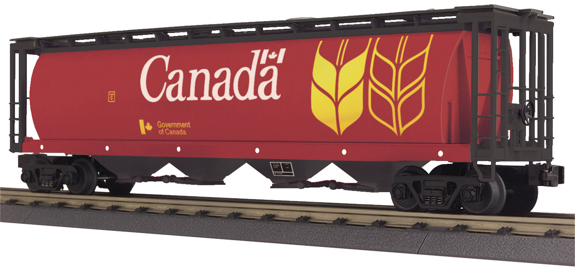 Canada 4-Bay Cylindrical Hopper Car image