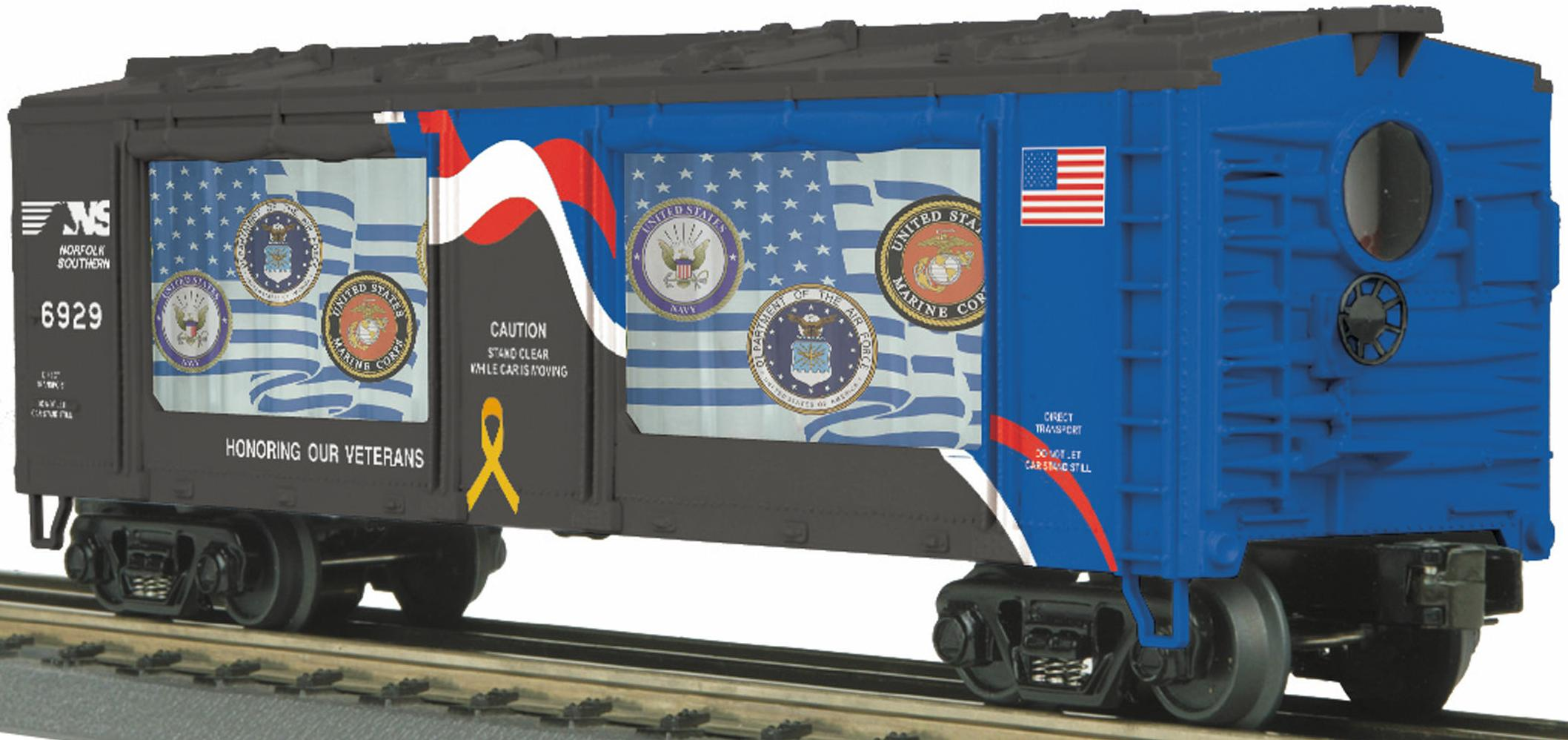 Norfolk Southern (Veterans) - Operating Action Car image
