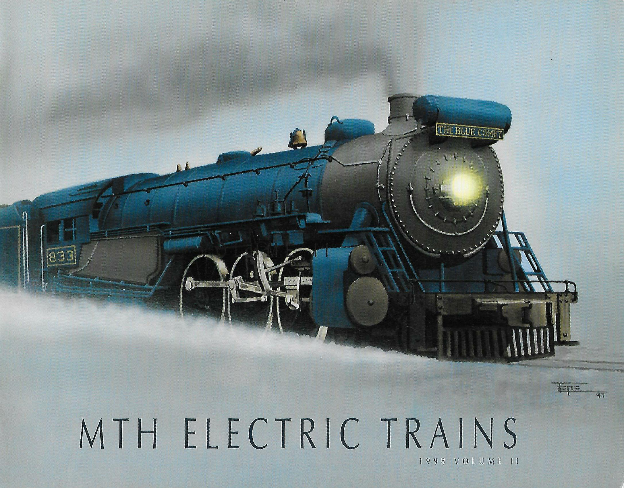 MTH 1998 Volume II – Blue Comet Catalog image