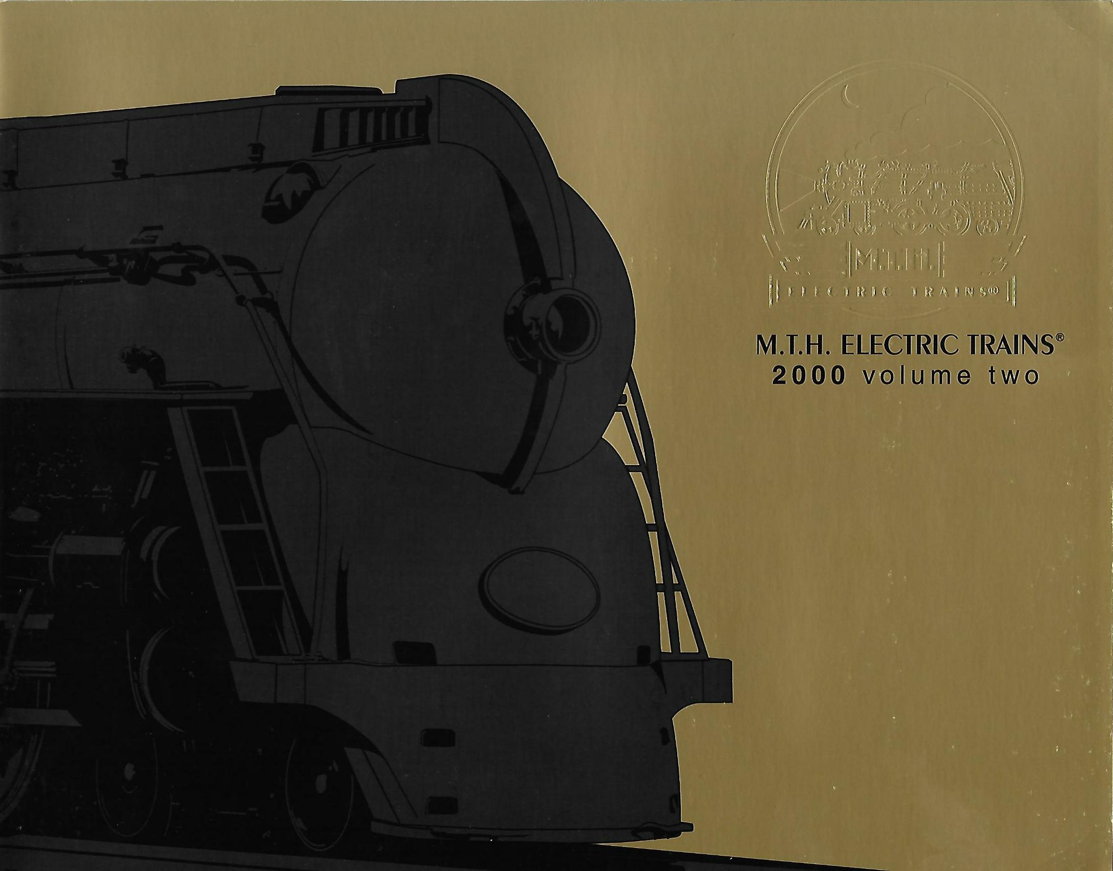 MTH 2000 Volume Two Premier Catalog image