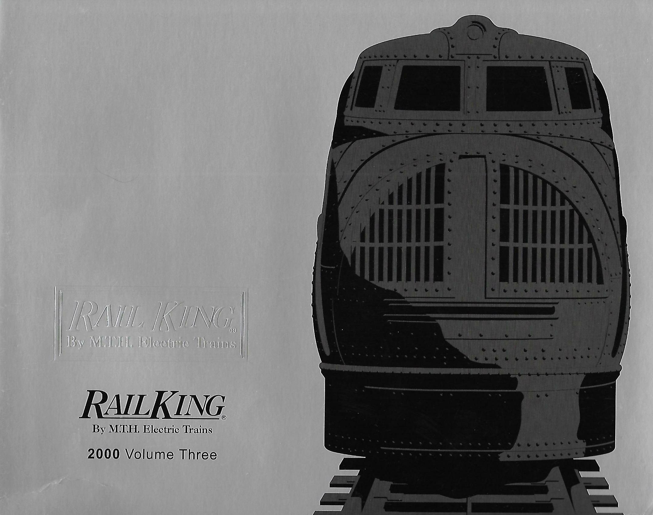 MTH 2000 Volume Three RailKing Catalog image