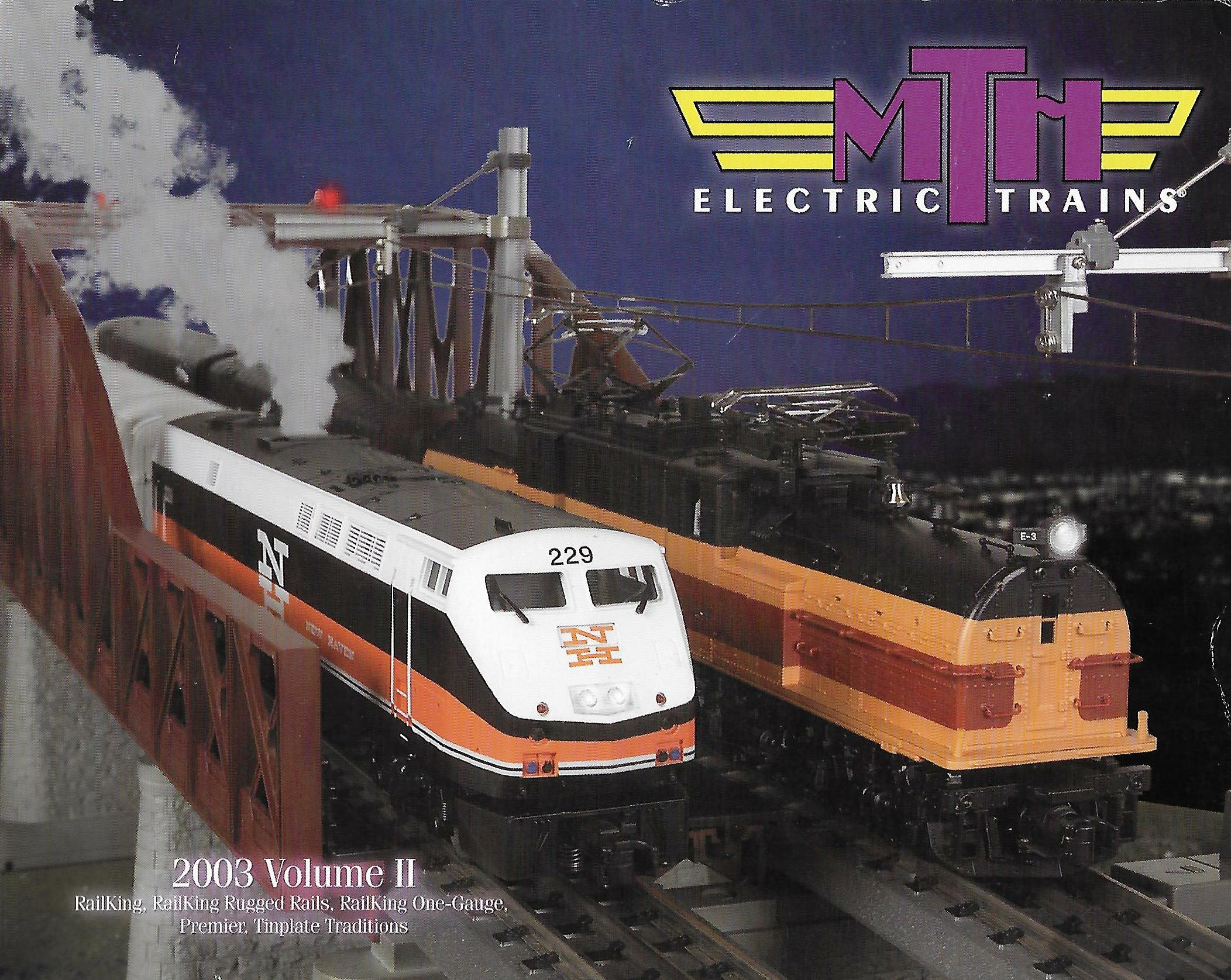 MTH 2003 Volume II Catalog image