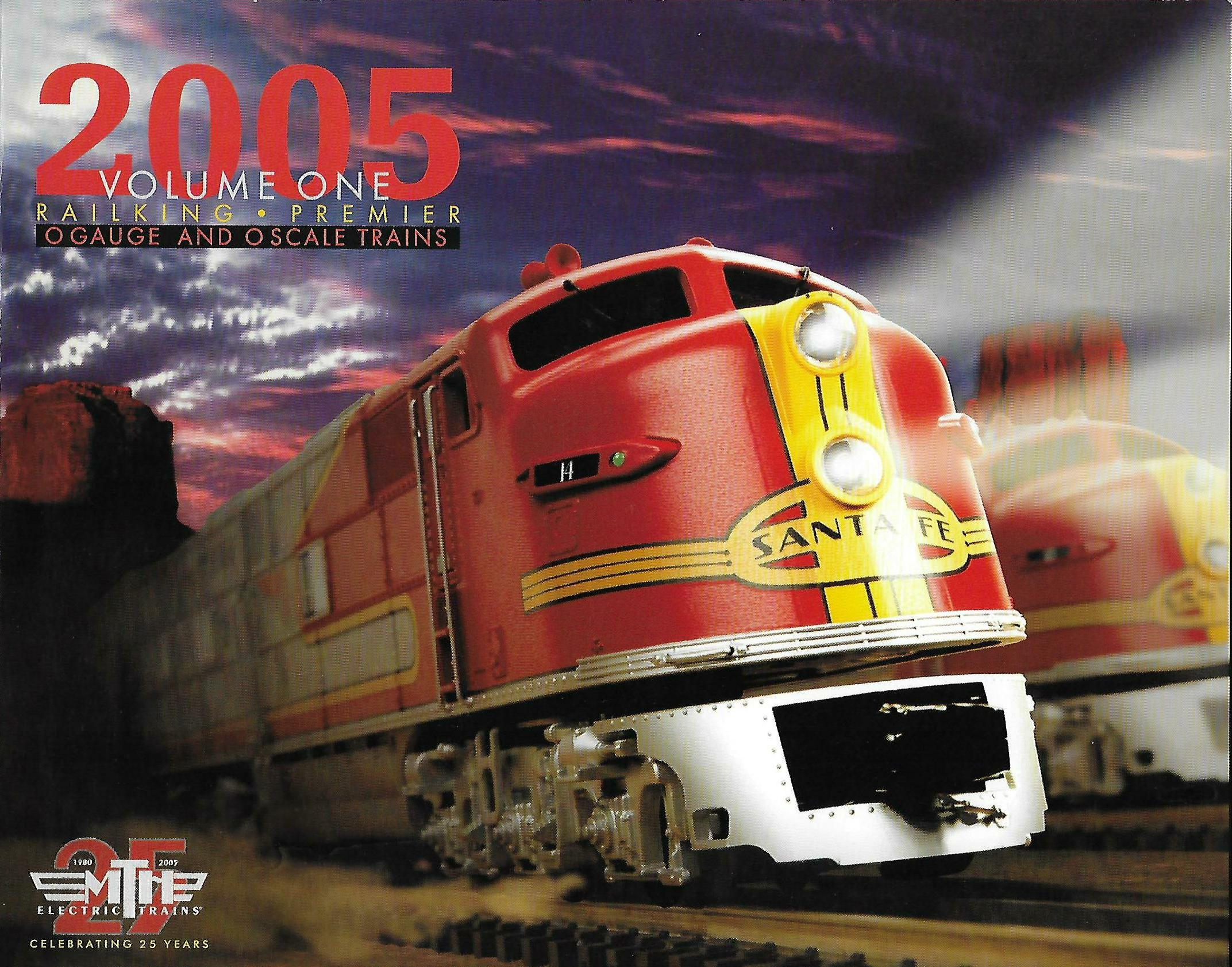MTH 2005 Volume One Catalog image