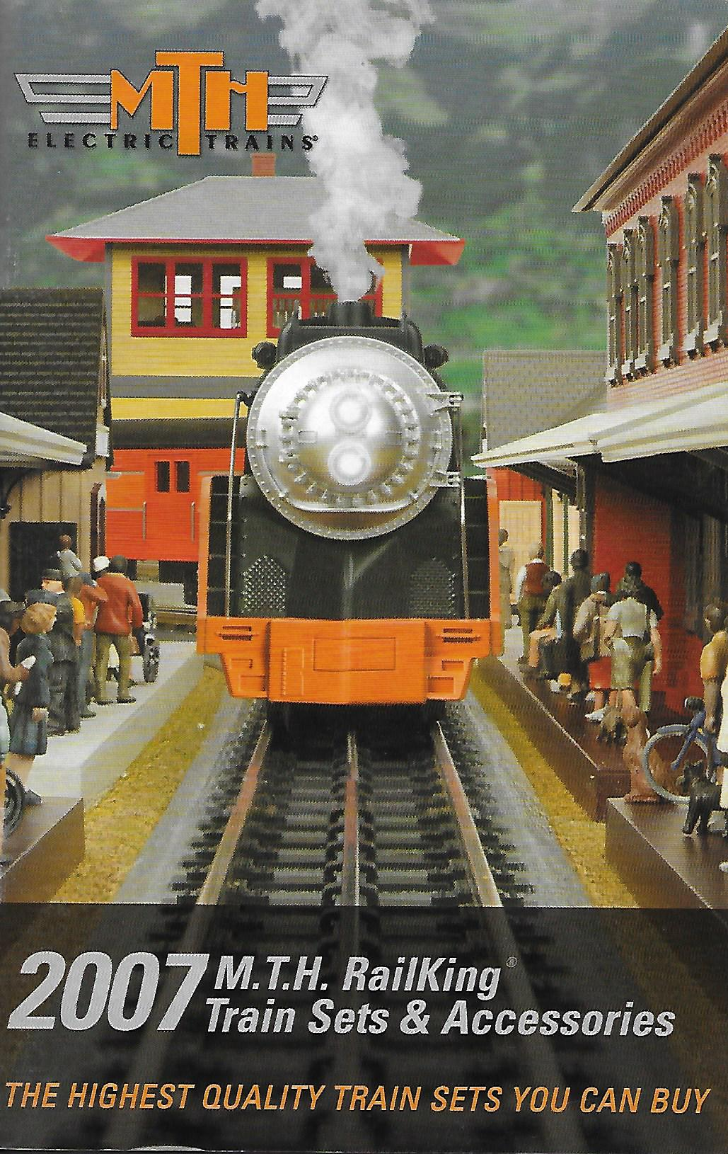MTH 2007 RailKing Train Sets & Accessories Catalog image