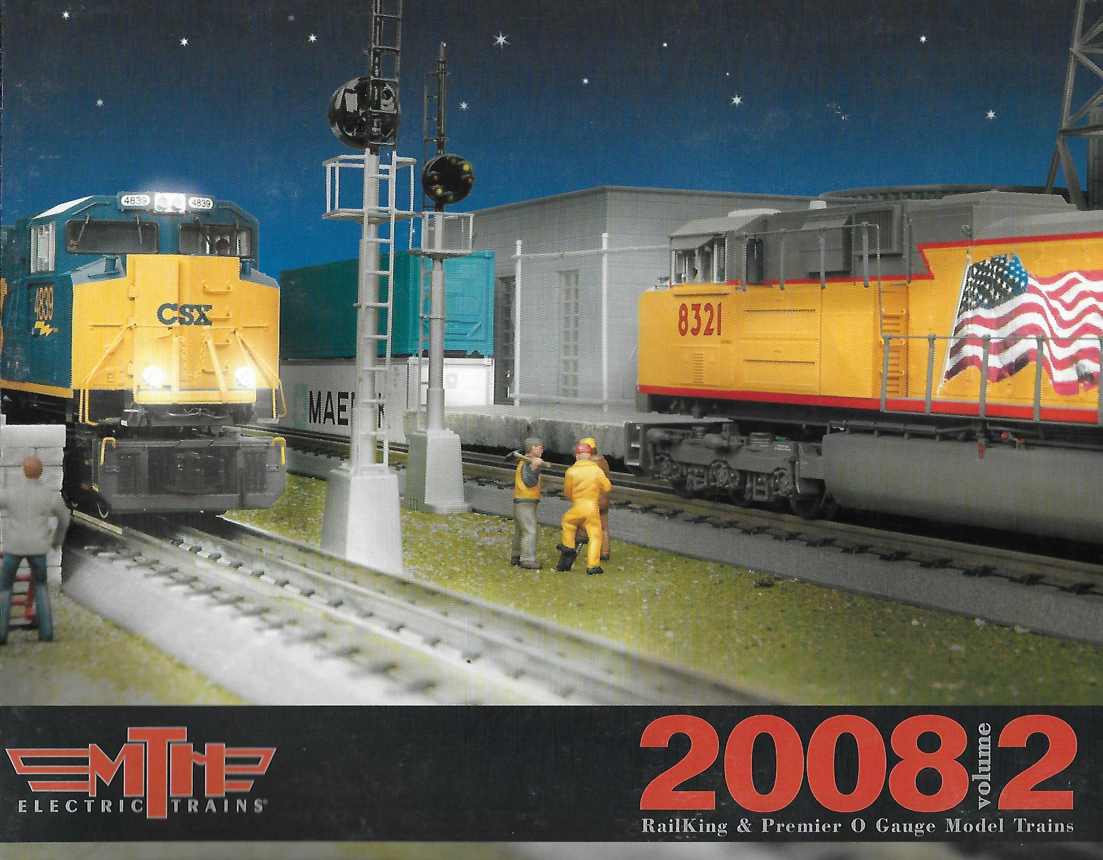 MTH 2008 Volume 2 Catalog image