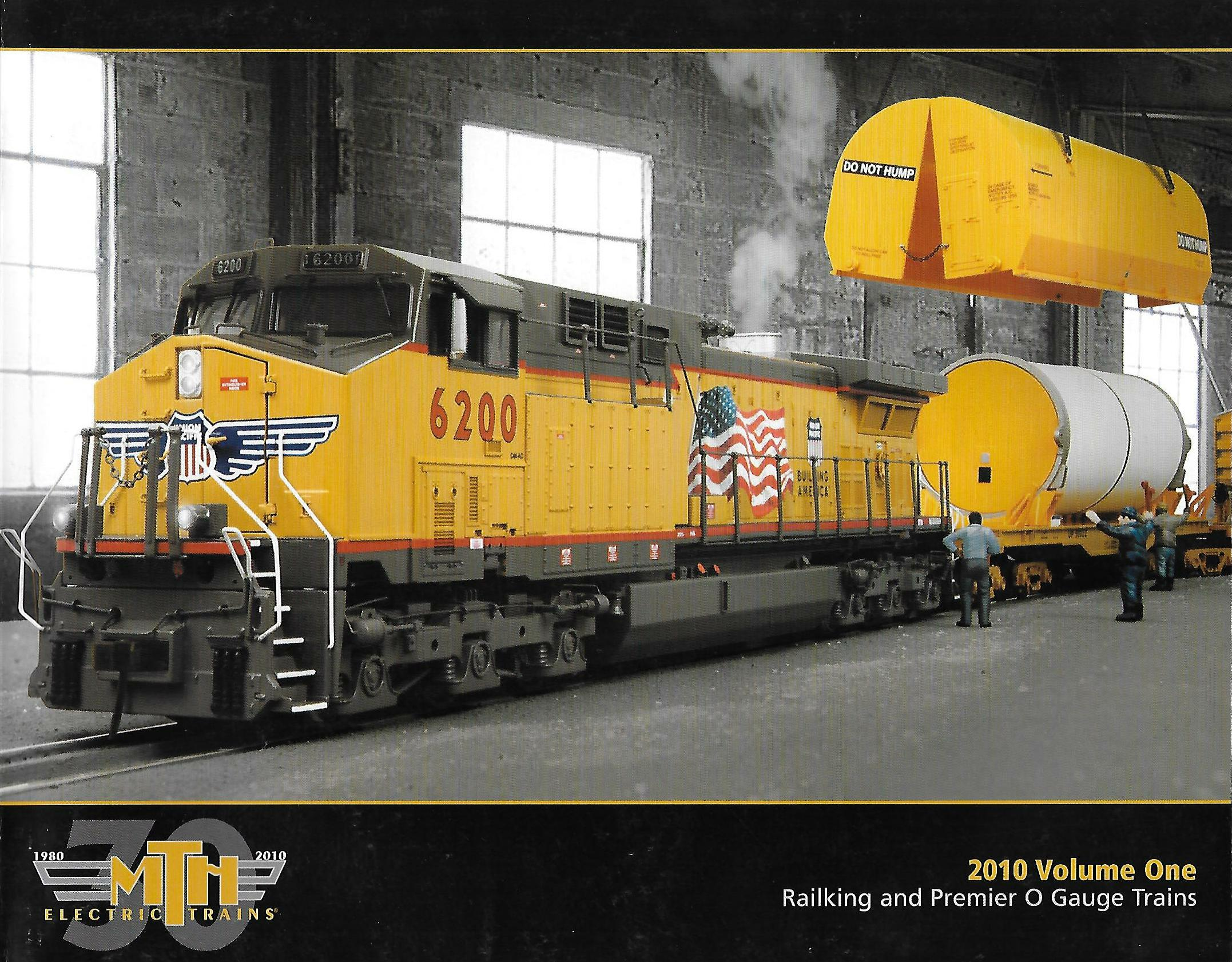 MTH 2010 Volume One Catalog image