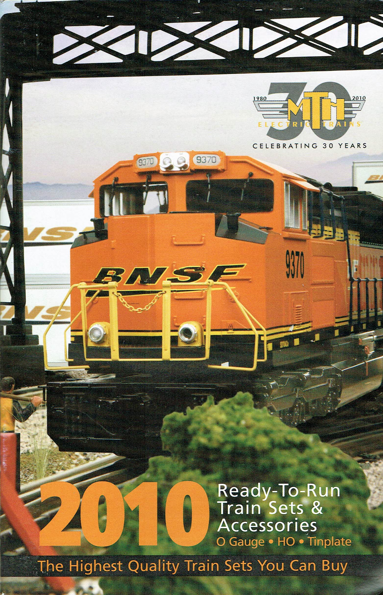 MTH 2010 Ready-To-Run Train Sets & Accessories Catalog image