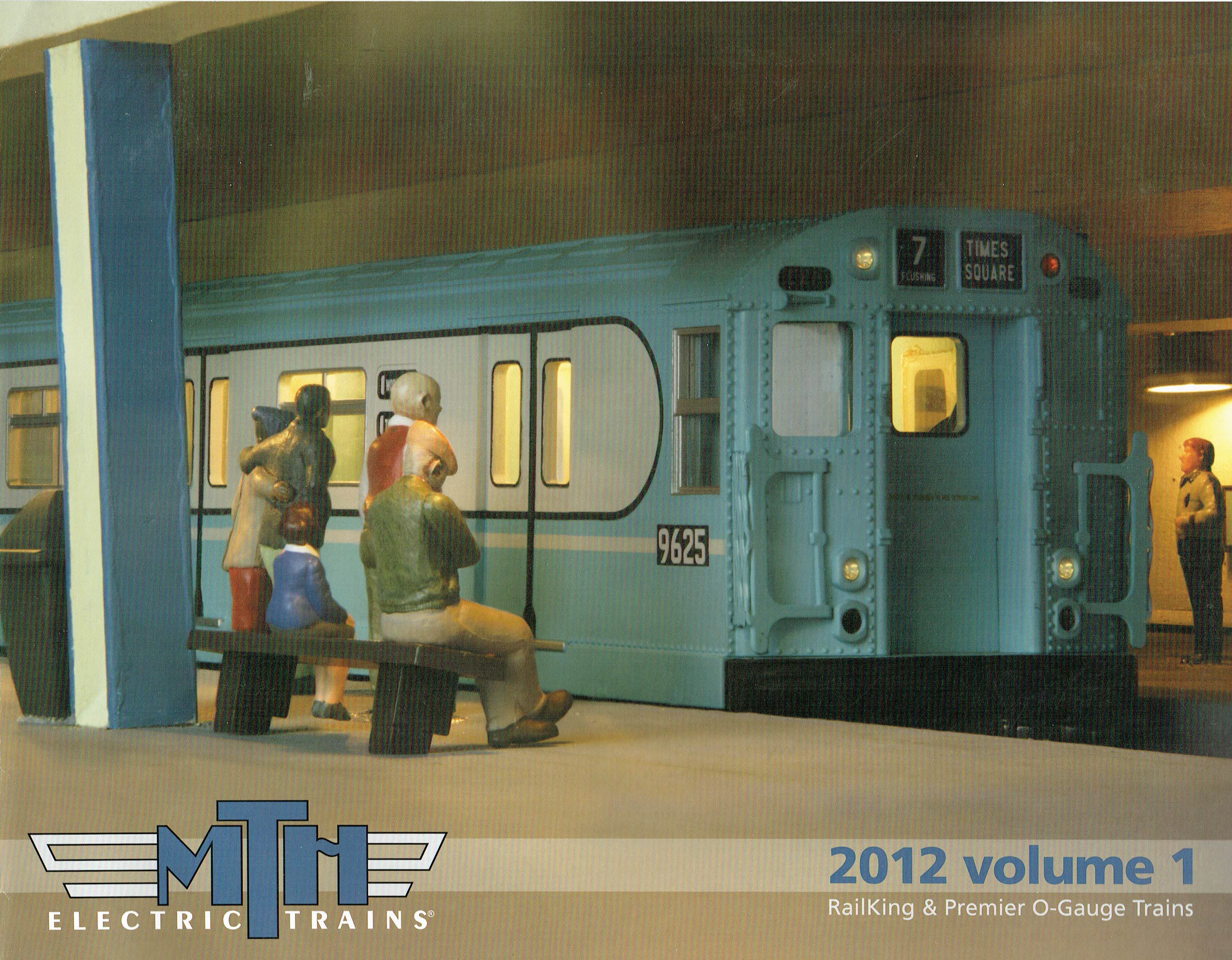 MTH 2012 Volume 1 Catalog image