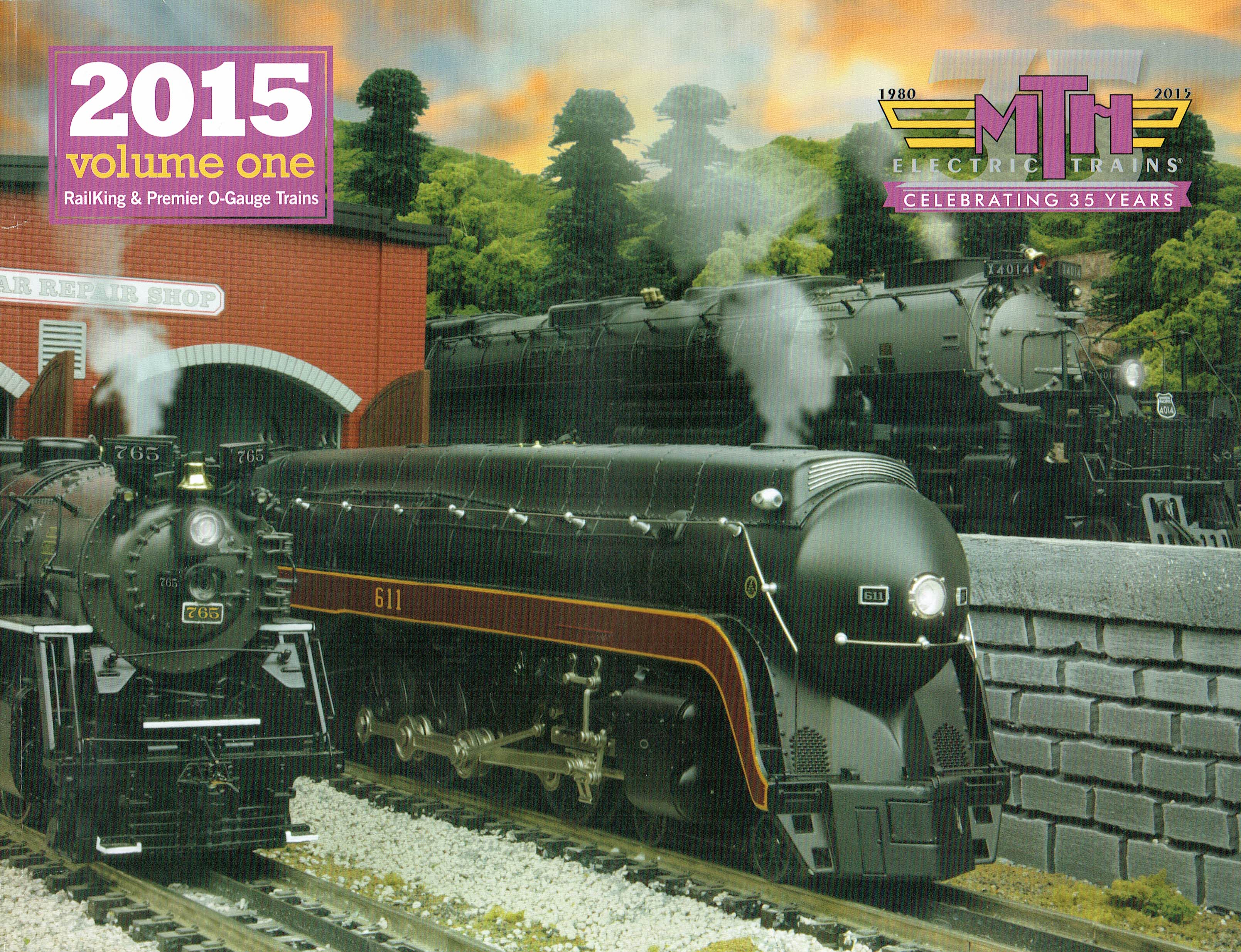 MTH 2015 Volume One Catalog image