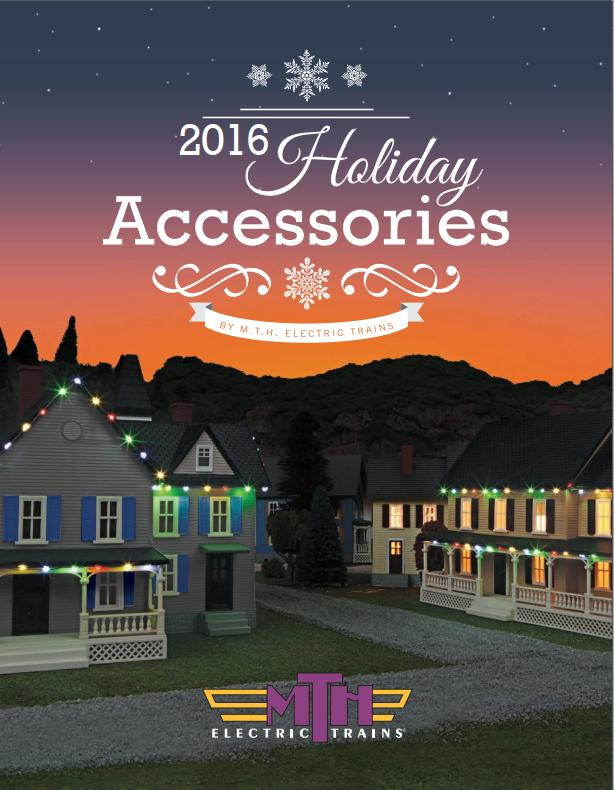 MTH 2016 Holiday Accessories Catalog image