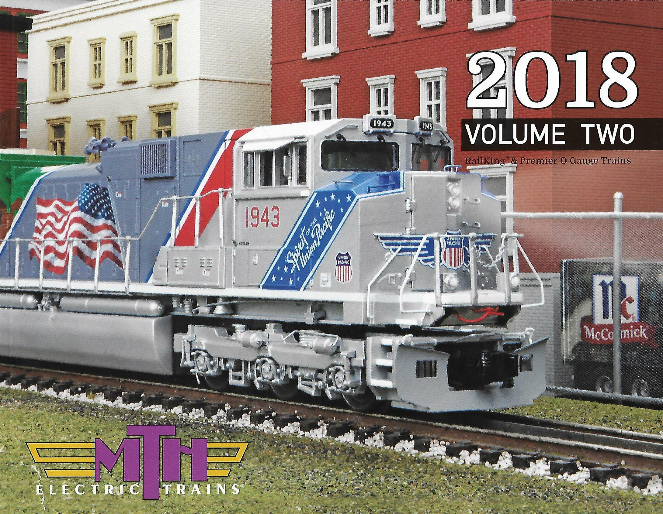 MTH 2018 Volume Two Catalog image