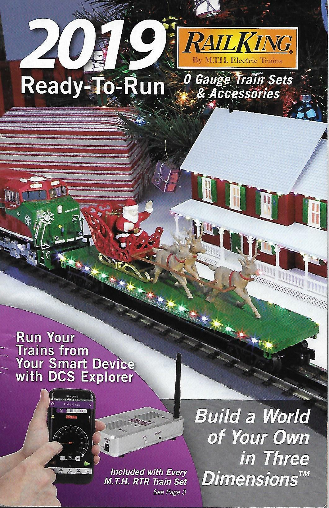 MTH 2019 Ready-To-Run Train Sets & Accessories Catalog image