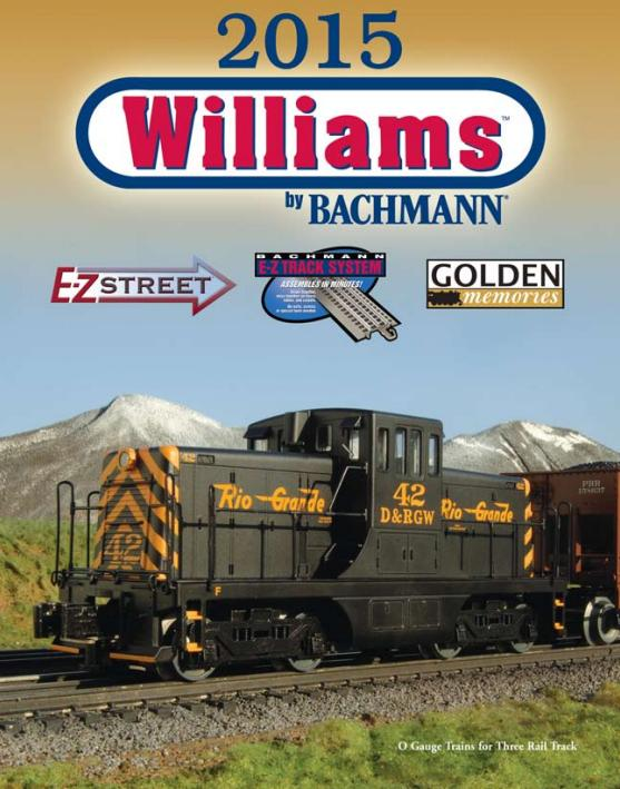 Williams by Bachmann 2015 Catalog image