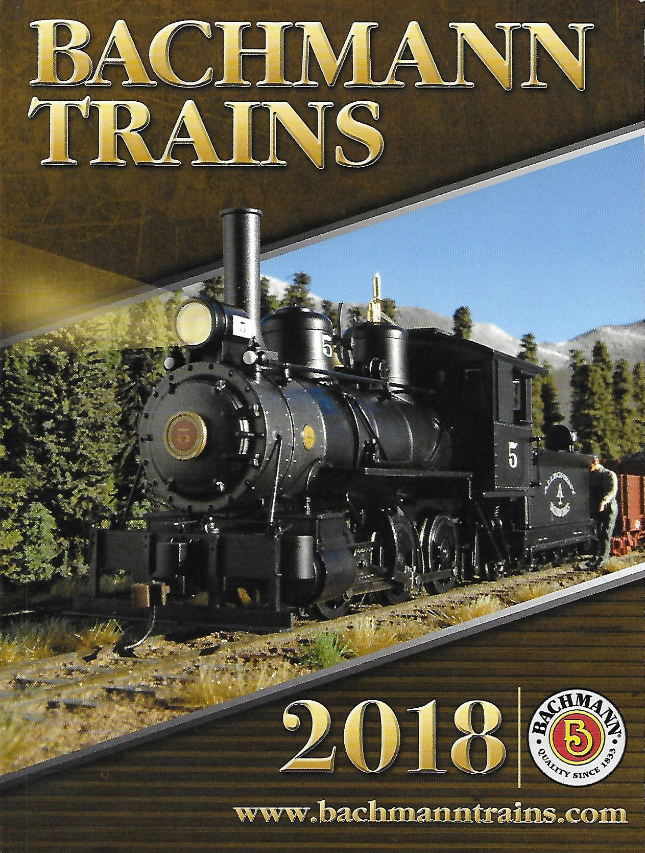 Williams by Bachmann 2018 Catalog image